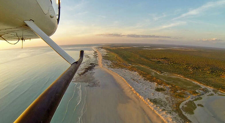 Private Broome Helicopter Flight with Beach Picnic  For 2