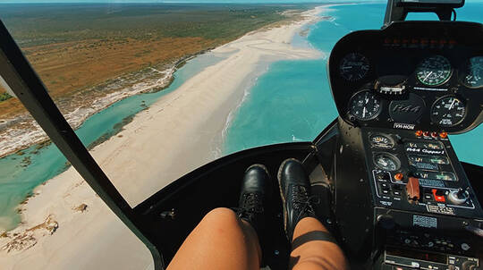 Broome Scenic Helicopter Flight - 30 Minutes - For 2