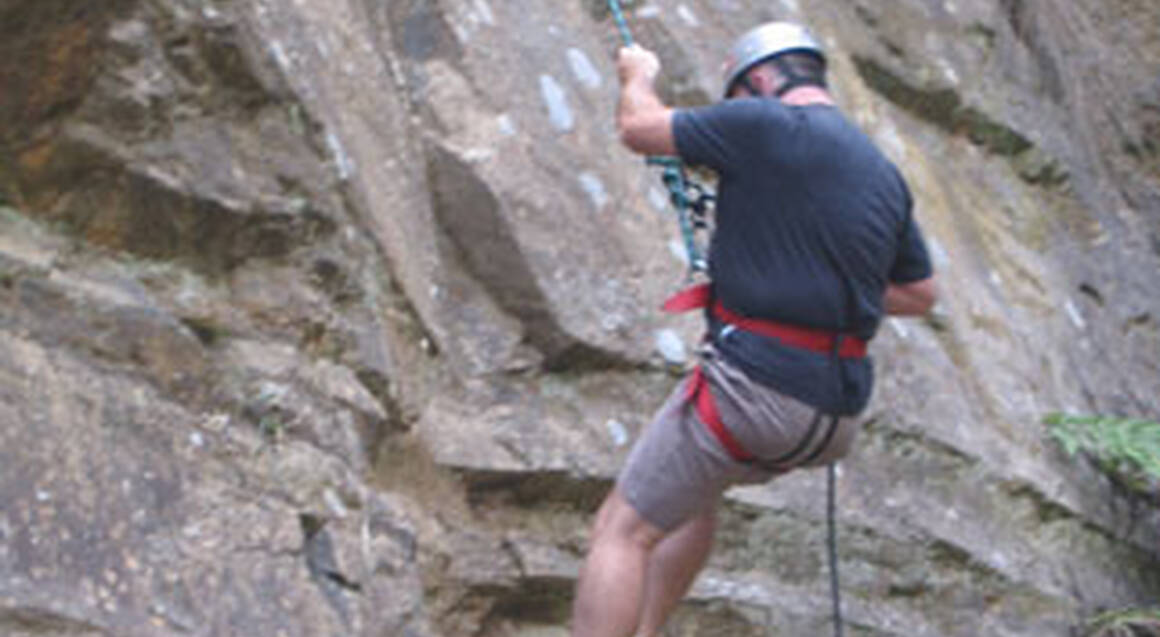 Rock Climbing and Abseiling Day - Including Transfer