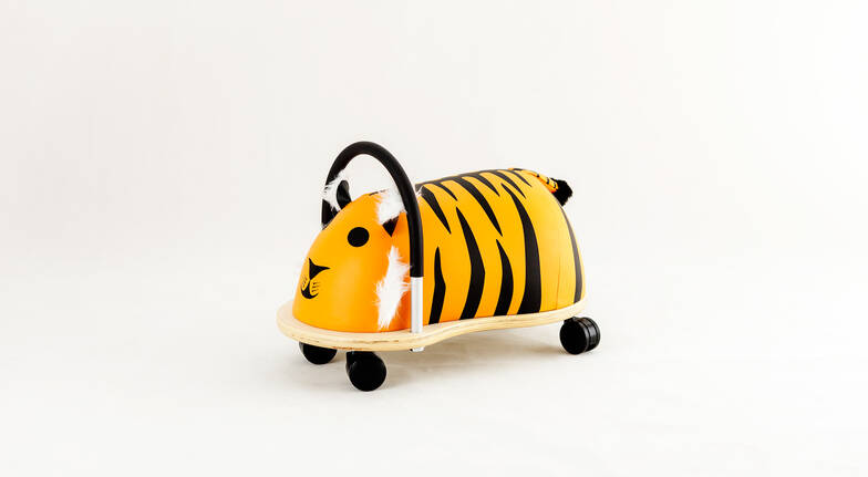 Kids Tiger Wheely Bug Toy