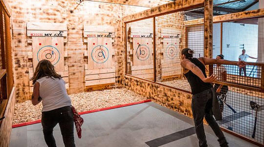 Axe Throwing Experience - 2 Hours - For 2