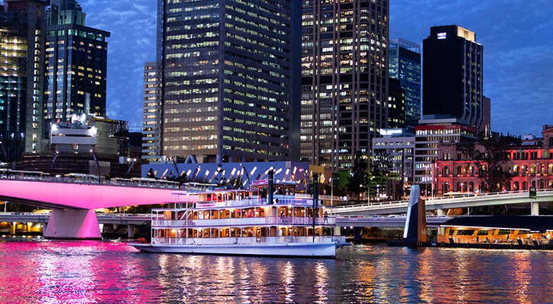 Dinner Cruise on the Brisbane River  For 2