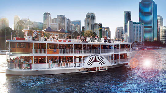 Brisbane Paddlewheeler Lunch Cruise - Weekday - For 2