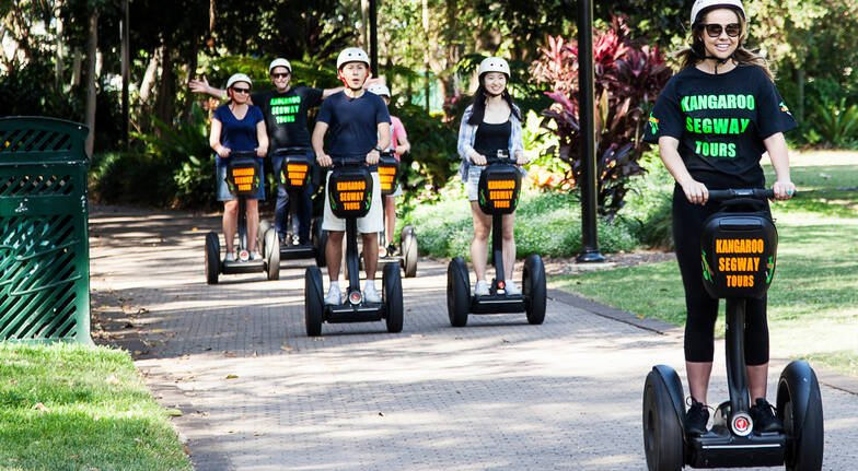 Segway Joy Ride Around Brisbane - 45 Minutes