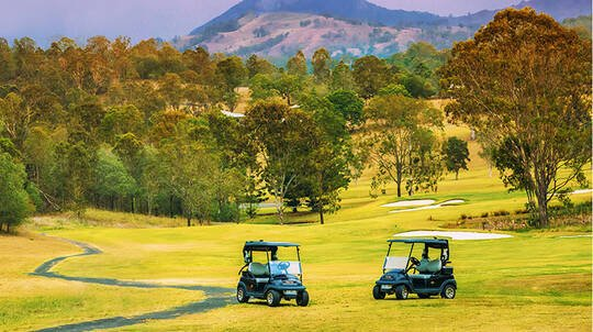 18 Holes Championship Golf in Kooralbyn Valley - For 2