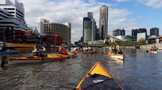 Melbourne City Kayak Tour on Yarra River - For 2