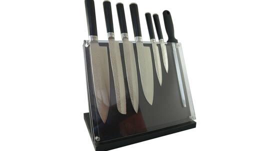 Laguiole by Louis Thiers - 8 Piece Knife Block Set