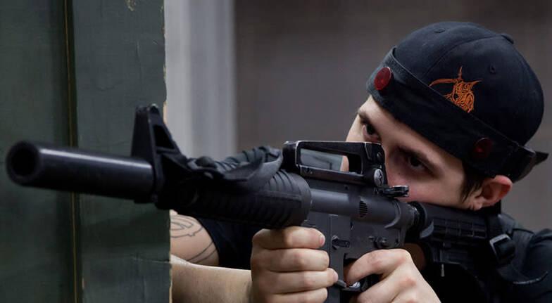 Laser Skirmish Outdoor Combat Adventure