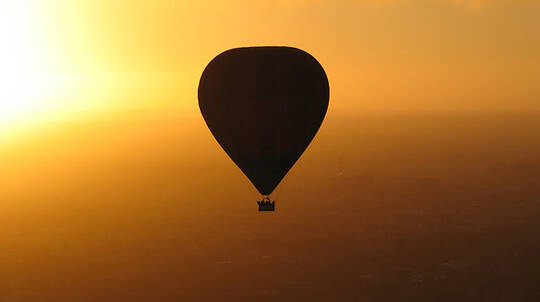 Hot Air Balloon Flight Over Geelong with Breakfast - For 2
