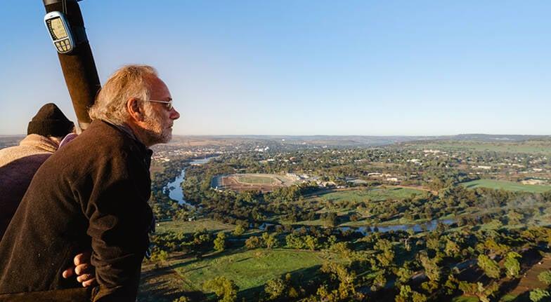 Avon Valley Hot Air Balloon Flight with Transfer  Weekend