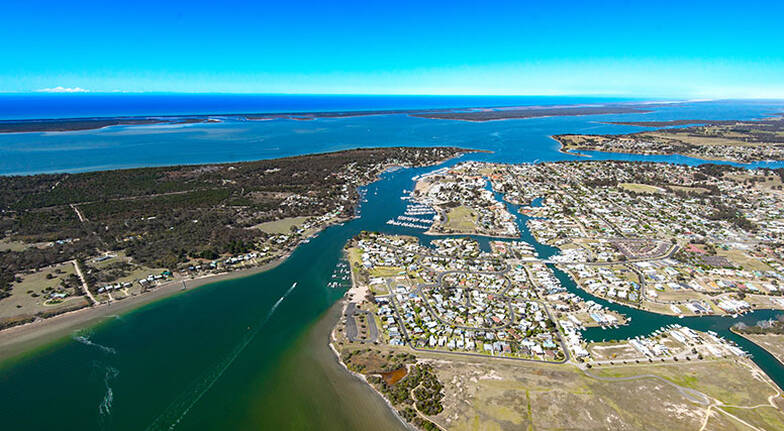 Lakes Entrance 42 Minute Helicopter Flight  For 2
