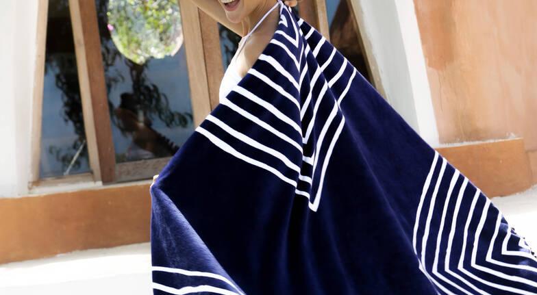 Designer Round Laguna Beach Towel - 2 for 1