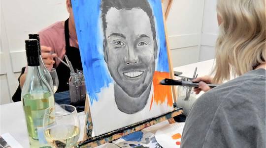Portrait Painting Class - 3 Hours