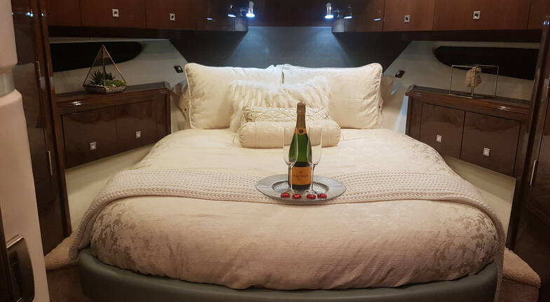 Overnight Yacht Stay with Breakfast, Bubbles and More- For 2