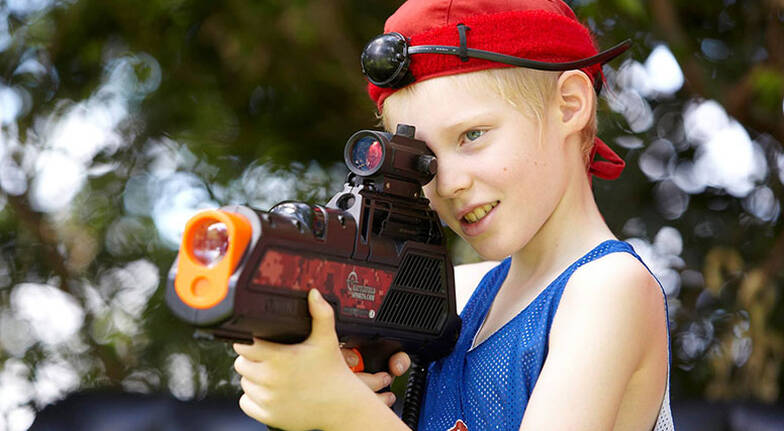 Laser Tag at Home  For 4  Greater Brisbane