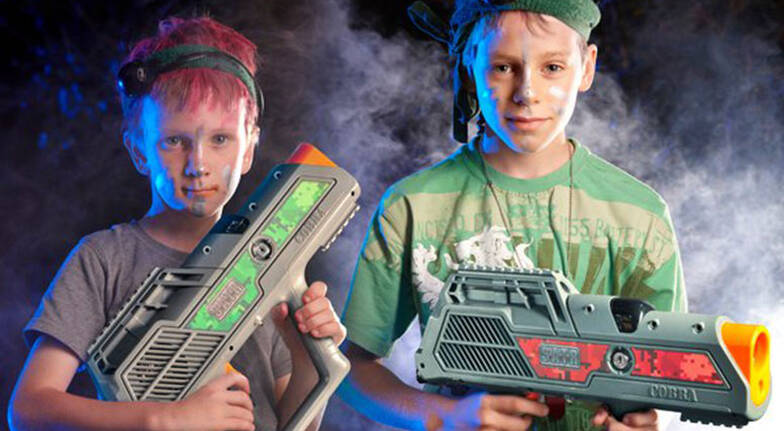 Laser Tag at Home  For 6  Greater Brisbane