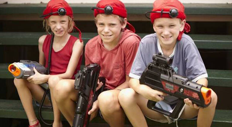 Laser Tag at Home  For 8  Greater Brisbane