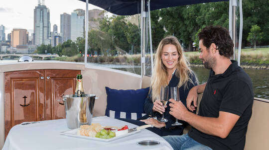 Private Yarra River Cruise with Wine and Cheese