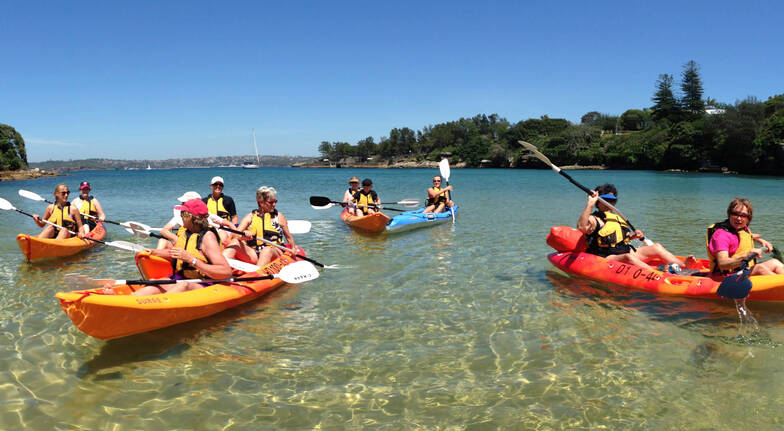 3 Beaches Kayak Tour with Lunch in Manly - 4 Hours