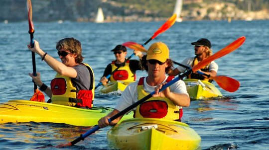 Single Kayak Hire in Manly - 4 Hours