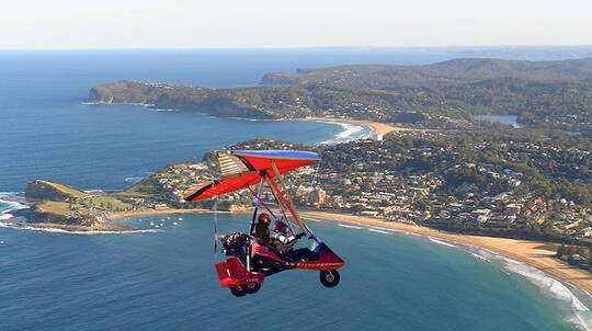 40 Minute Microlight Aircraft Training Instructional Flight