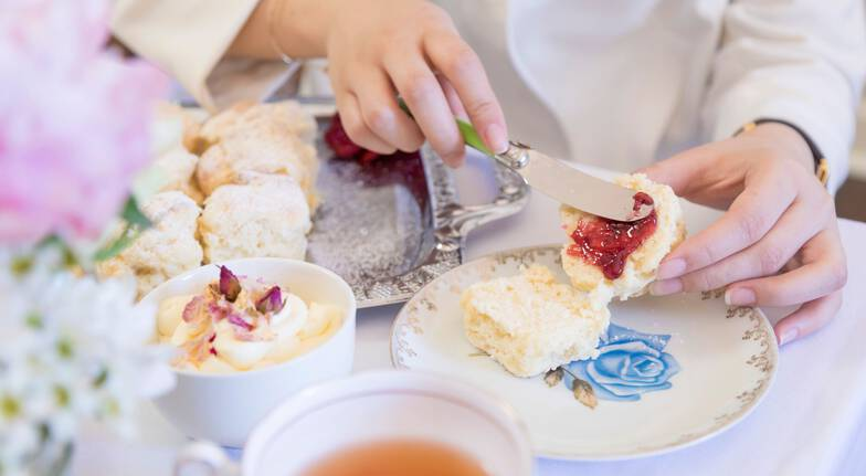 Delicious High Tea with Champagne and Tea Gifts - For 2