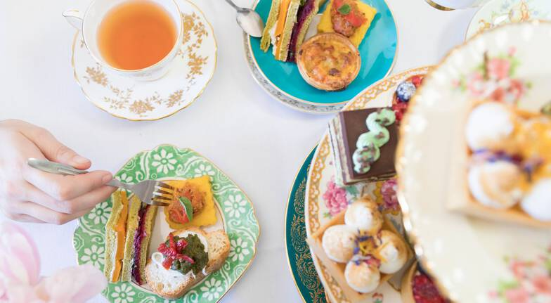 Delicious High Tea with Champagne and Gifts - For 2