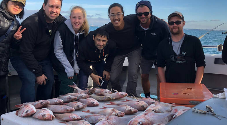 Half Day Fishing Charter with BBQ Lunch