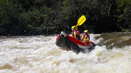 White Water Rafting on the Yarra River