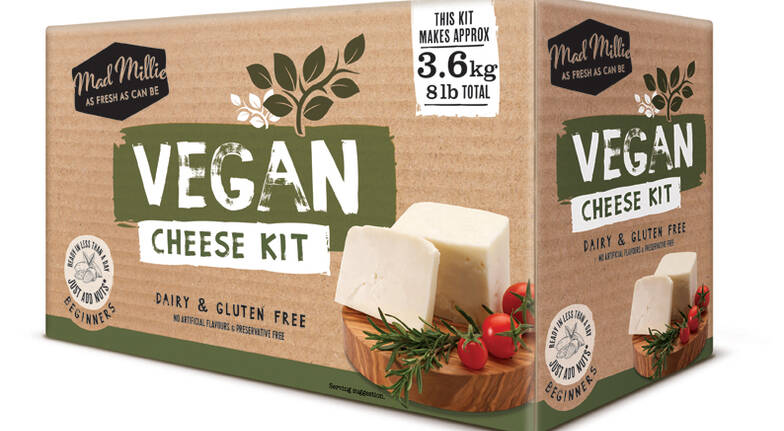 Vegan cheese making kit