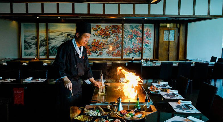 Japanese Teppanyaki Lunch or Dinner  For 2