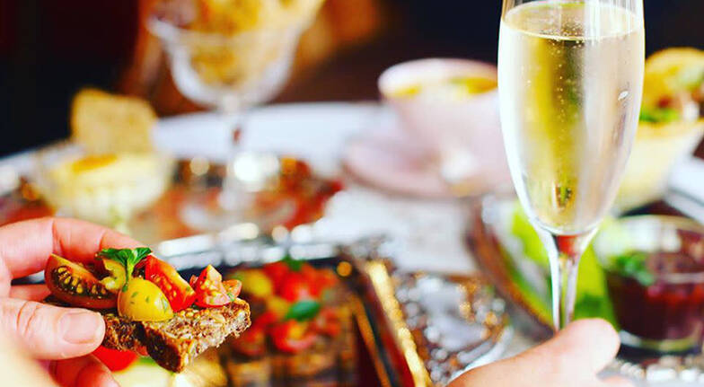 Luxury High Tea at Home with Bubbles  For 2  Collingwood