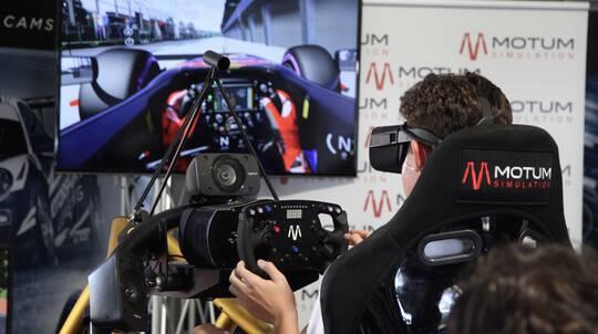 Virtual Reality Simulator Racing Experience - 45 Minutes