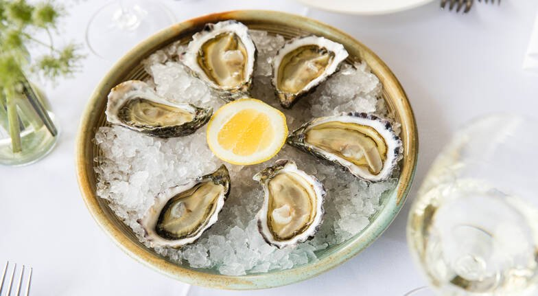 6 Course Seafood Degustation with Champagne at Manta - For 2