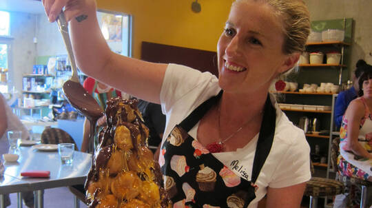 Croquembouche And Caramel Cooking Class