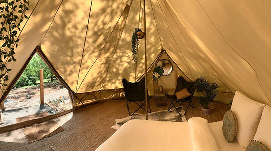 2 Night Midweek Gippsland Glamping Stay - For 2