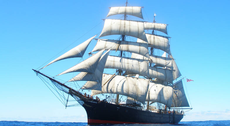Afternoon Sail on an Authentic Restored Tall Ship