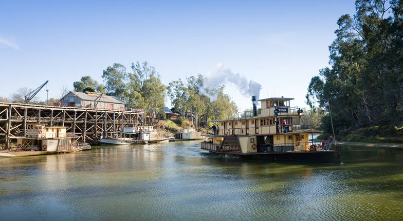 Paddlesteamer Cruise Along The Murray River - 2 Hours