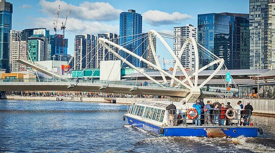 Melbourne Highlights Sightseeing Cruise - 2 Hours