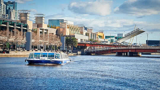 Melbourne Ports and Docklands Scenic Cruise - 1 Hour