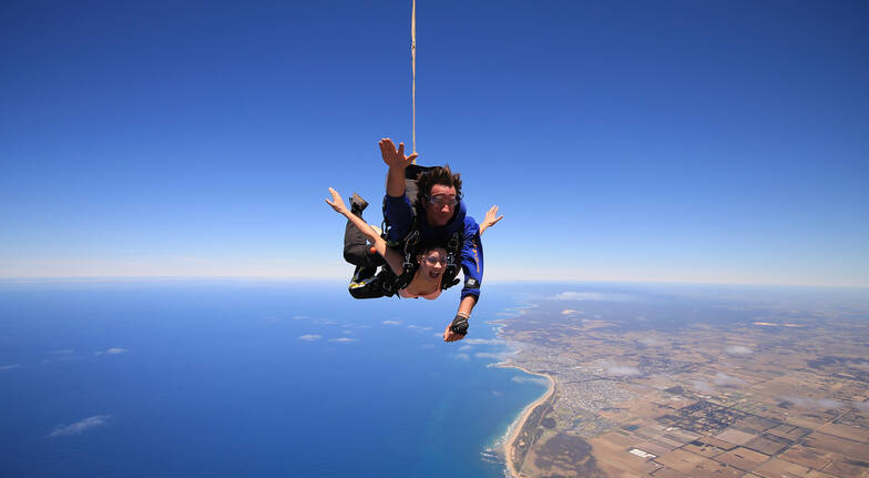 Skydive over Yarra Valley - 15,000ft - Weekday
