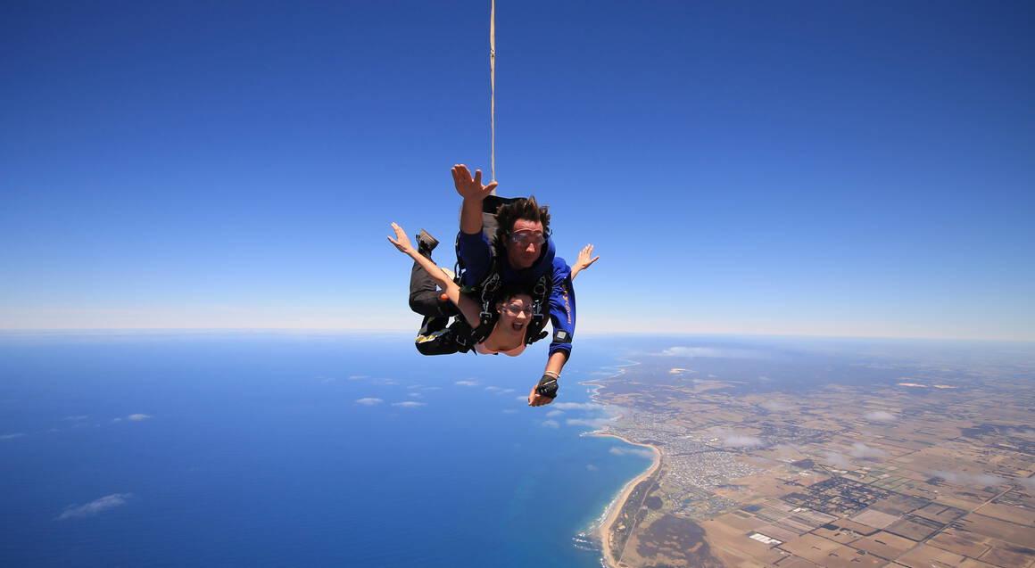Skydive over Yarra Valley - 15,000ft - Weekend