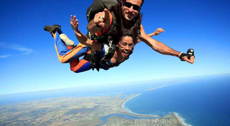 Skydive Great Ocean Road - 15,000ft - Weekend