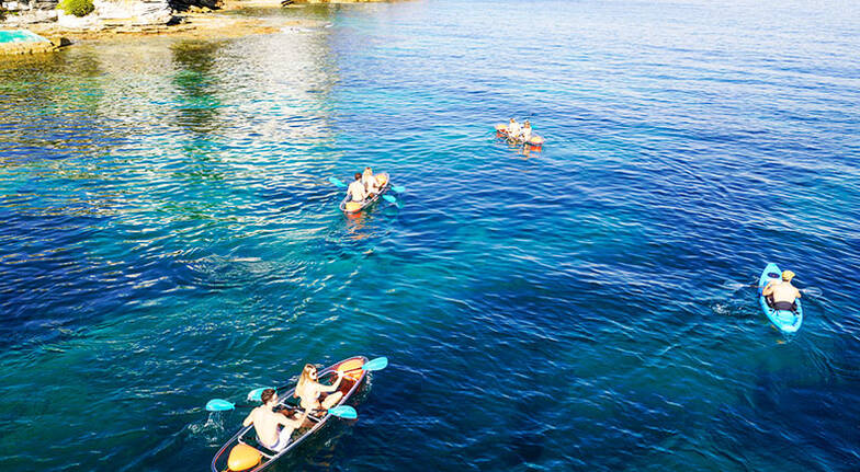 4 Hour Double Clearview Kayak Hire - For 2