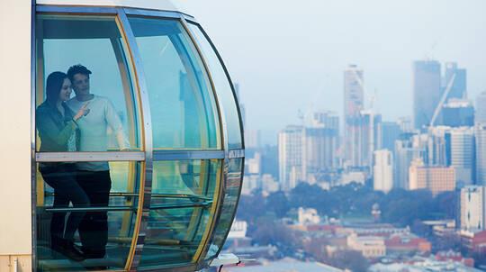 Melbourne Star Observation Wheel Flight - For 2