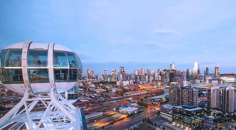 Melbourne Star Observation Wheel Flight  For 2