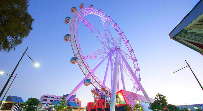 Melbourne Star Observation Wheel Flight with Meal and Drink