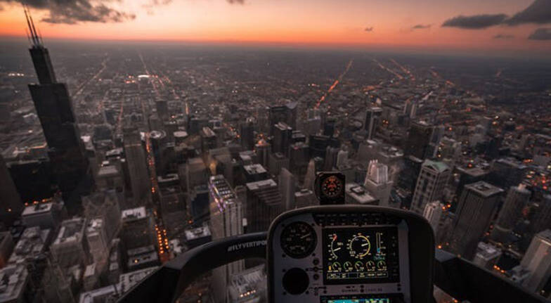 Doors Off Helicopter Flight over Melbourne  35 Minutes