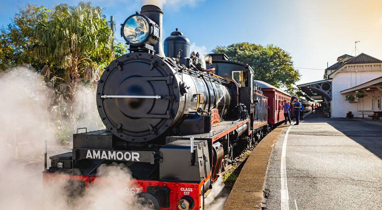 Mary Valley Rattler Steam Train Experience Wednesday