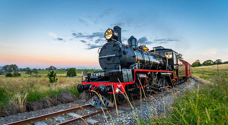 Mary Valley Rattler Steam Train Experience  Saturday